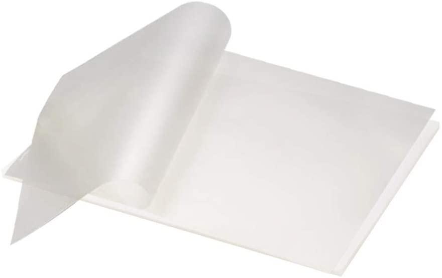 Thinktoo Thermal Laminating Plastic Laminator Sheets - 8.9 Inch x 11.4 Inch 10 Pcs