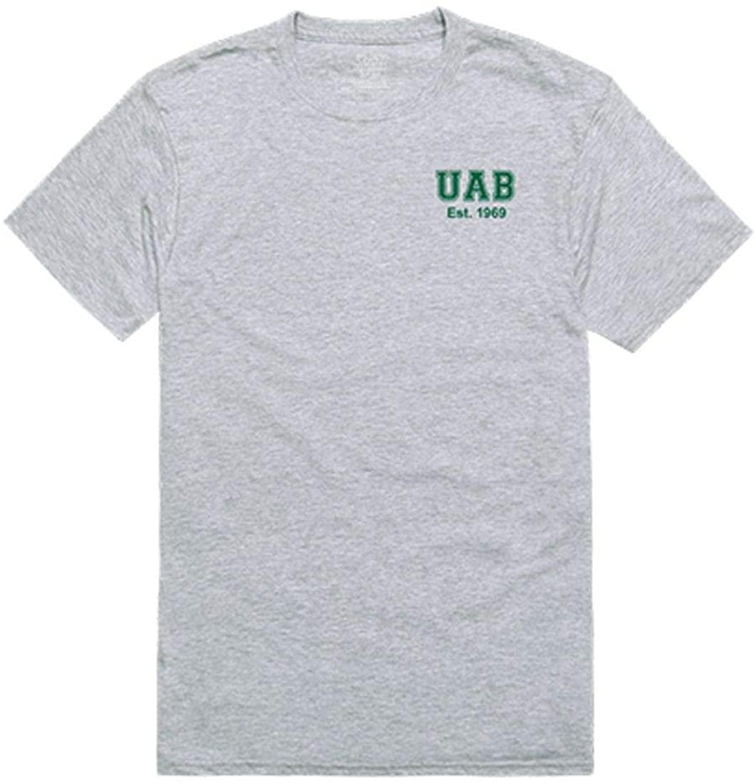 UAB University of Alabama at Birmingham Blazer NCAA Practice Tee T-Shirt Heather Grey
