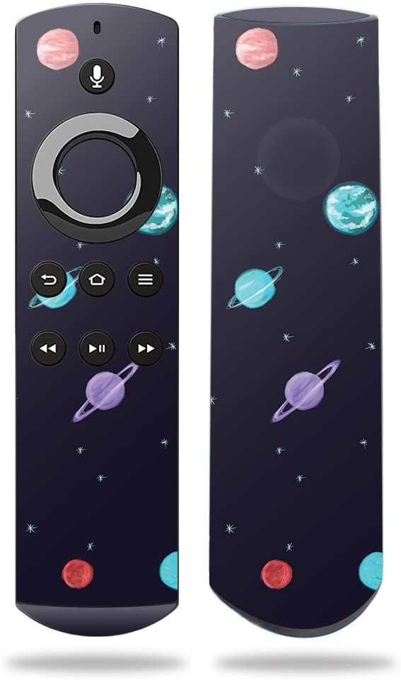 MightySkins Skin Compatible with DHgate Fire TV Remote - Bright Night Sky | Protective, Durable, and Unique Vinyl Decal wrap Cover | Easy to Apply, Remove, and Change Styles | Made in The USA