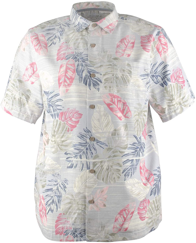 Tommy Bahama Men's Big and Tall Botanica Sketch Island Zone Camp Shirt
