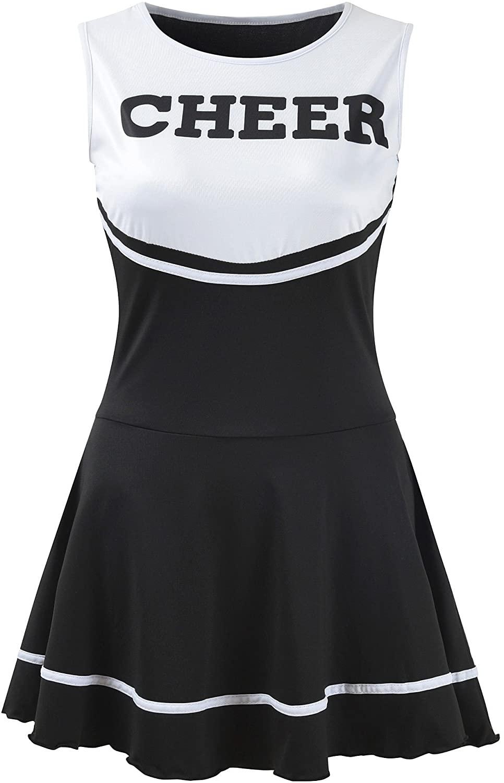 OurLore Women's Musical Uniform Fancy Dress Cheerleader Costume Outfit