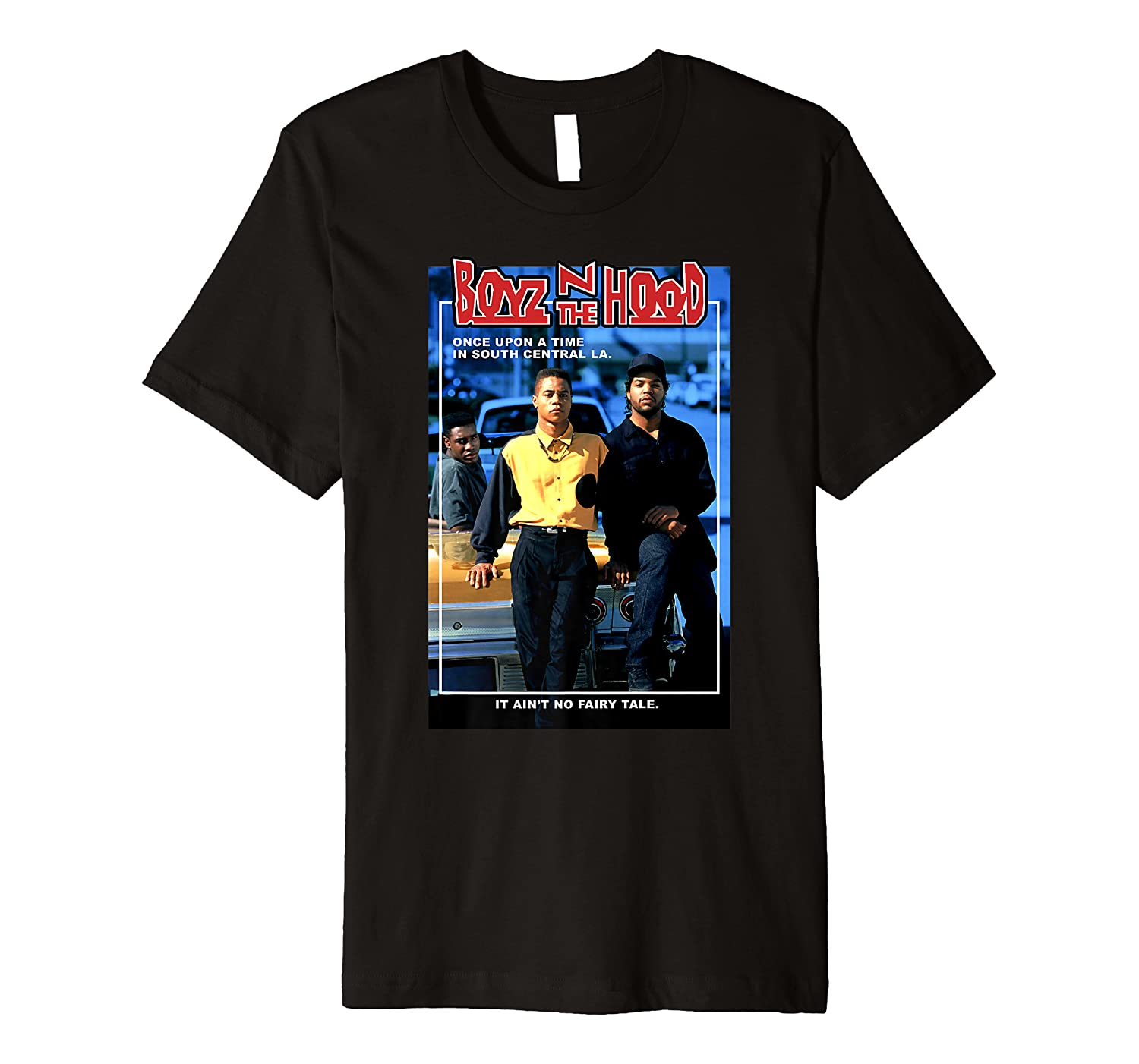 Boyz N The Hood Doughboy and Tre Once Upon A Time Portrait Premium T-Shirt