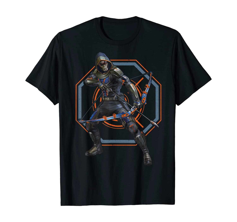 Marvel Black Widow Taskmaster Action Pose T-Shirt