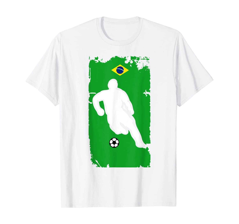 Brazil Soccer Jersey - Brazilian Flag | Football Futbol