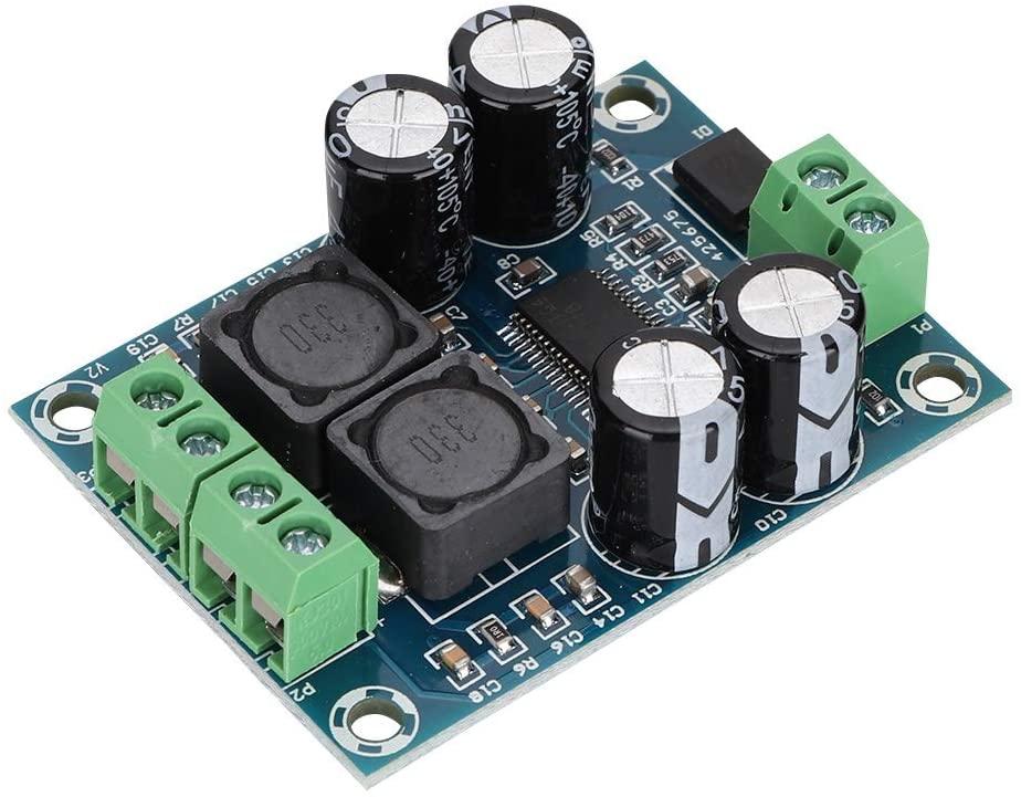 Mini Audio Amplifier Board, Digital TPA3118 Power Amplifier Board Hi-Fi Stereo Sound AMP Module Mono 60W for Audio System DIY Speakers