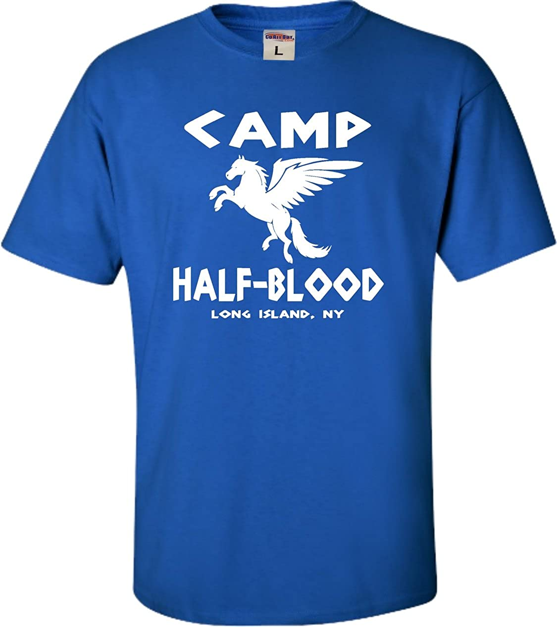 Go All Out Screenprinting Youth Camp Half-Blood T-Shirt
