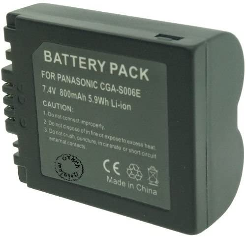 Otech Battery Compatible for PANASONIC CGR-S006A / 1B