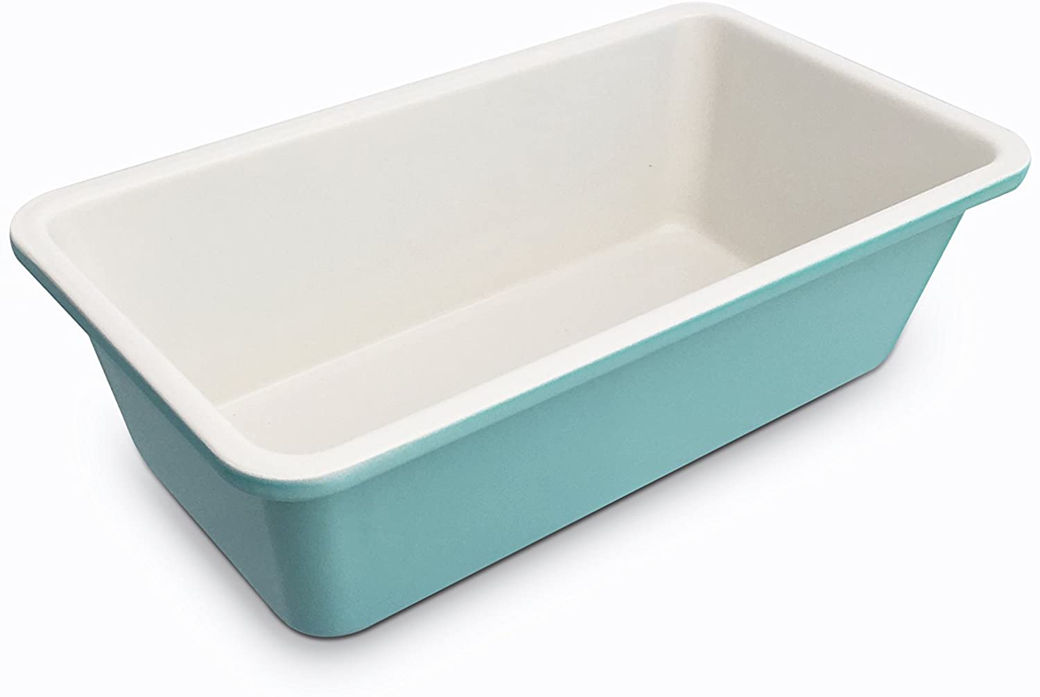 GreenLife Ceramic Non-Stick Loaf Pan, Turquoise -