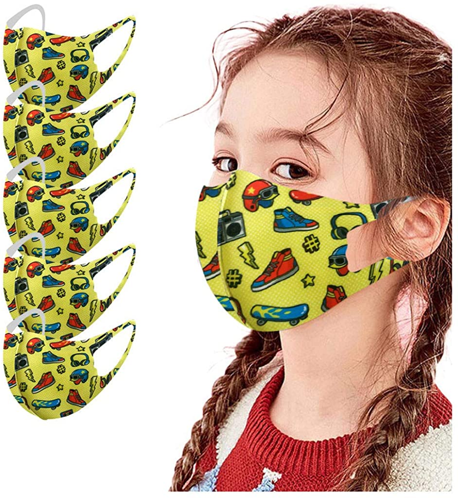 Face_Mask Cotton Face Dust Funny Print Breath Cotton Washable Reusable Face Bandanas AI305