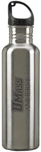 LXG, Inc. University of Massachusetts Amherst - 24-Ounce Sport Water Bottle - Silver