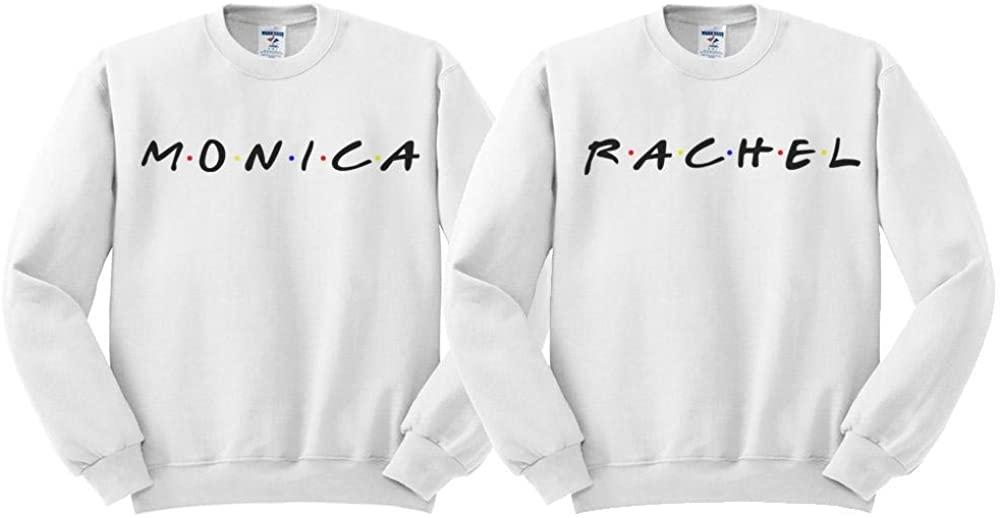 Monica and Rachel BFF Duo Sweatshirt Men's/Unisex