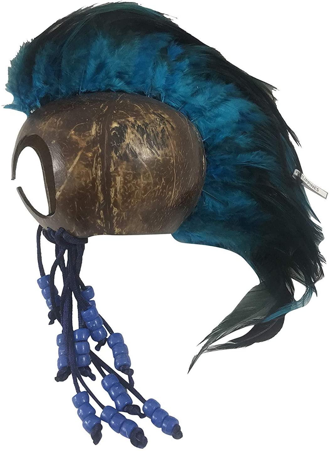 Westman Works Large Hawaiian Warrior Helmet Handmade from a Real Coconut Hawaii Makini Makaki'i Ikaika Home Decor Gift