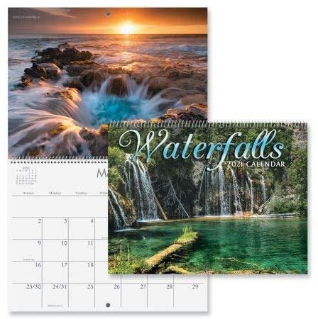2021 Waterfalls Wall Calendar - 12