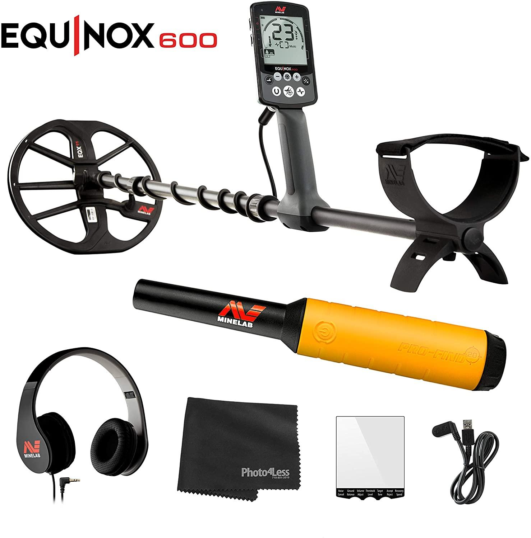 Minelab Equinox 600 Multi-Purpose Metal Detector with EQX 11