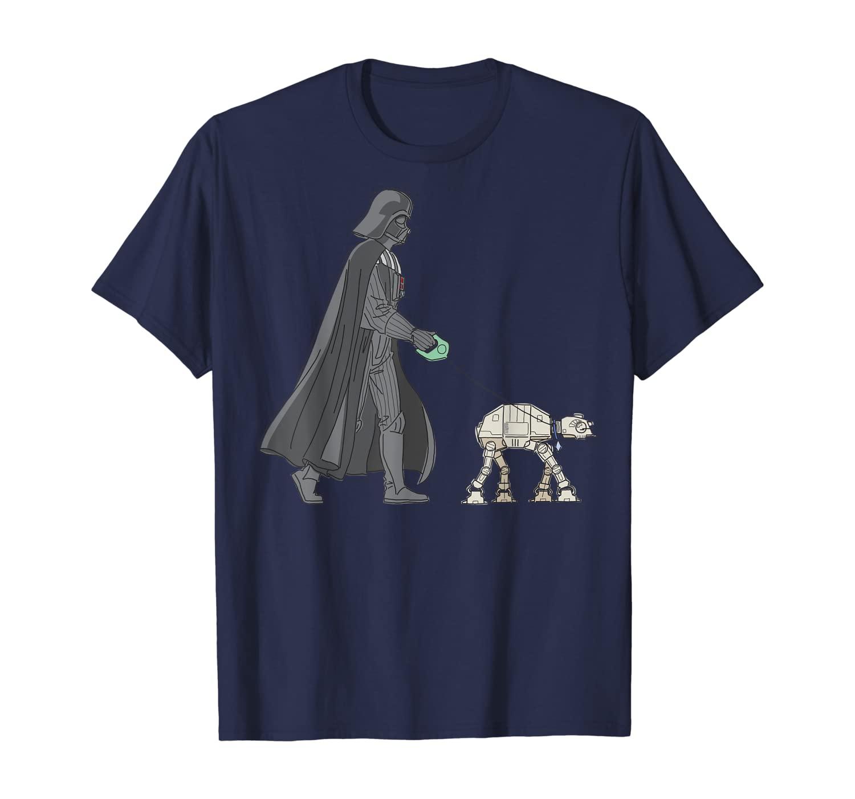 Star Wars Darth Vader AT-AT Walker T-Shirt
