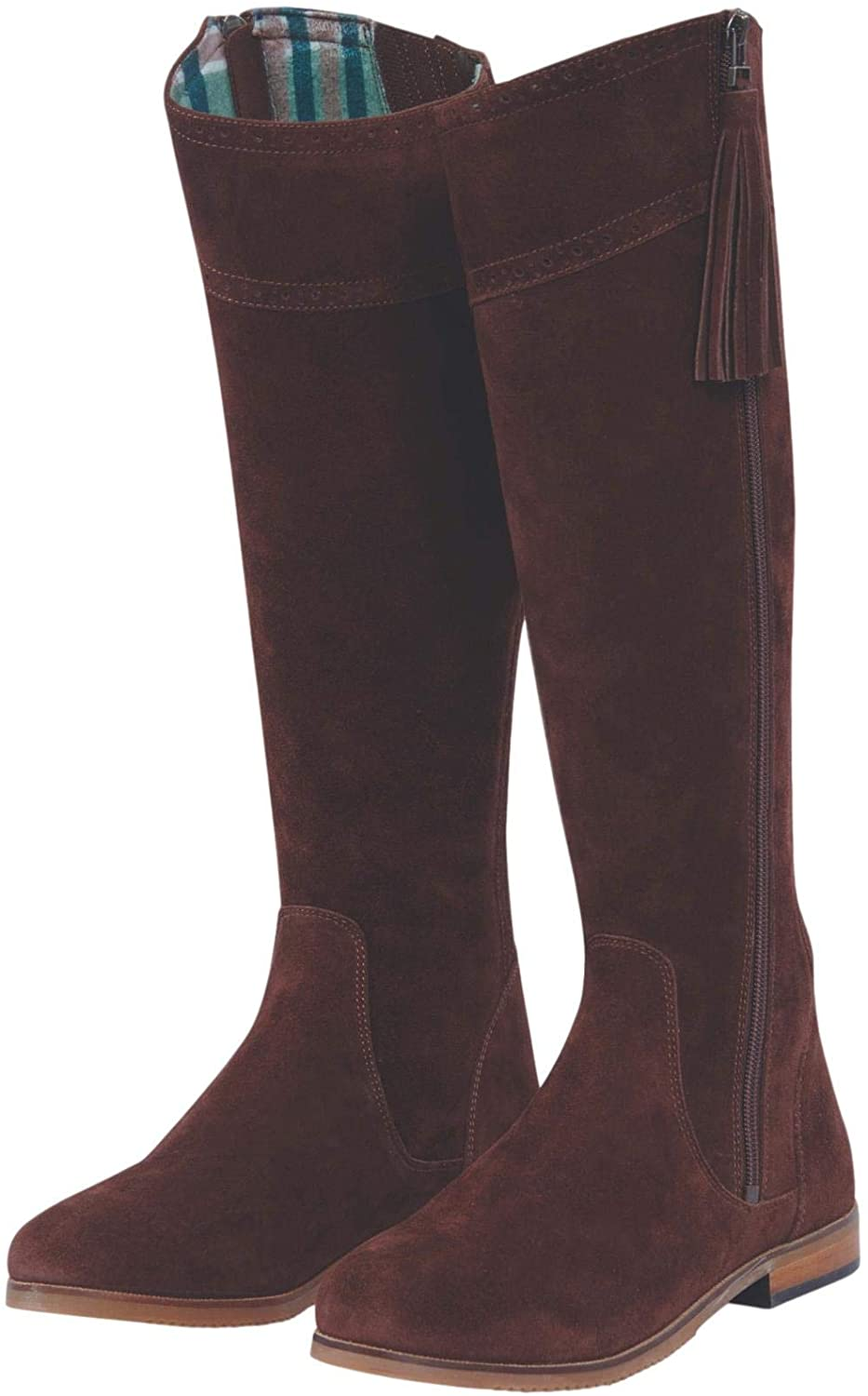 Dublin Kalmar SD Tall Boots (Chocolate, 6.5)