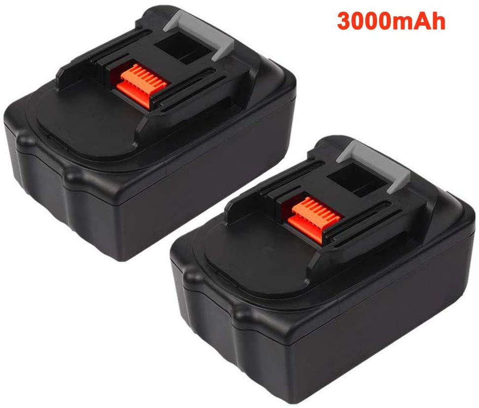 2Pack 3.0Ah Replacement Battery for Makita 18V Lithium-Ion BL1830 BL1850 BL1840 BL1845 BL1860 LXT-400 Batteries