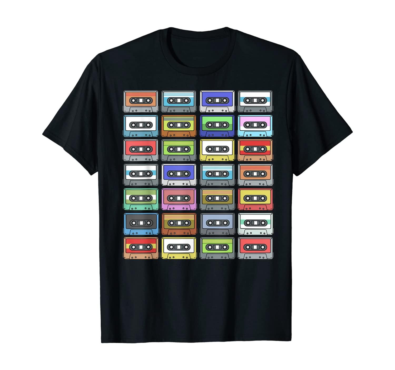 Cassette Tape TShirt 80s 90s Retro Music Shirt