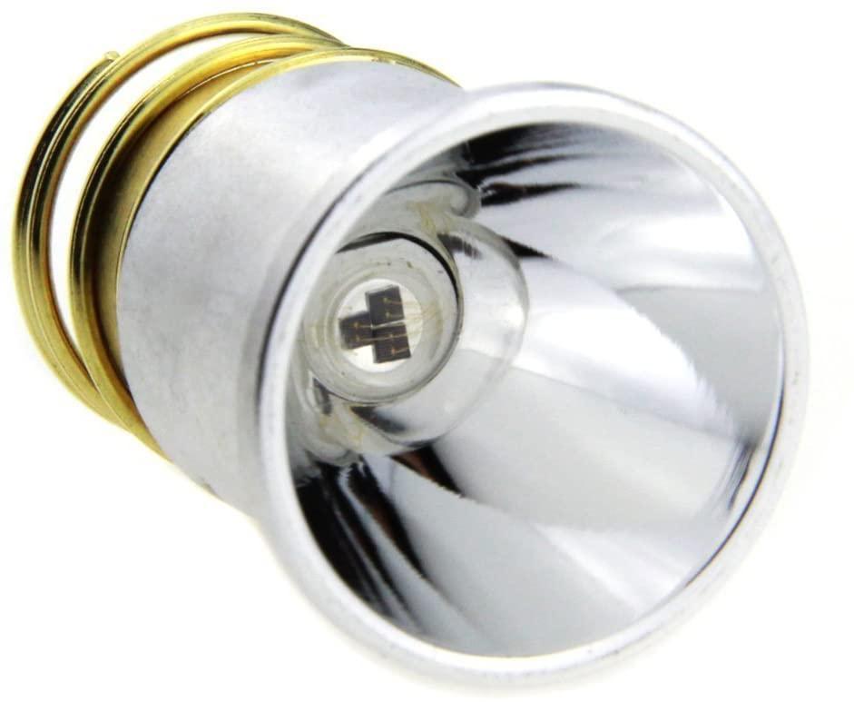 BESTSUN IR 850nm Infrared Light Bulb Infrared Light Flashlight 1 Mode Drop-in P60 Design Module Torch Repair Parts Replacement Bulb for Surefire Hugsby C2 G2 Z2 6P 9P G3 S3 D2 Ultrafire 501B 502B
