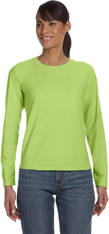Comfort Colors Ladies Ringspun Garment-Dyed Long-Sleeve T-Shirt