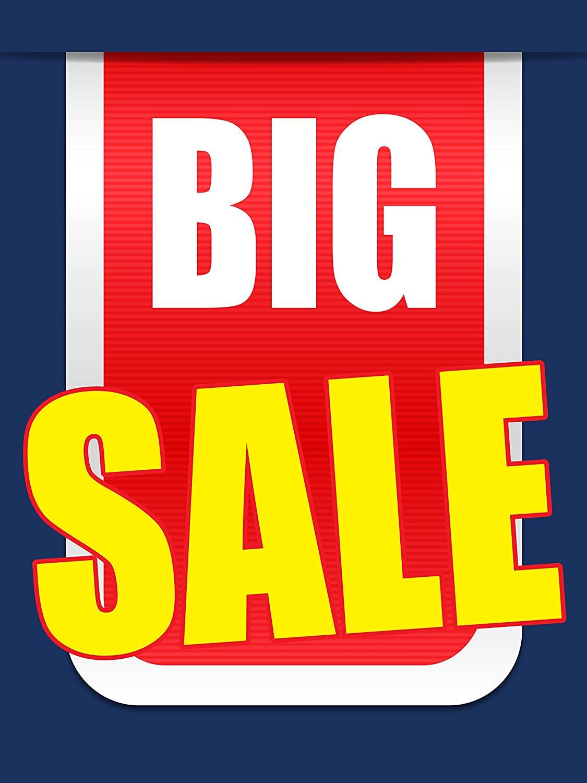Big Sale Business Retail Display Sign, 18