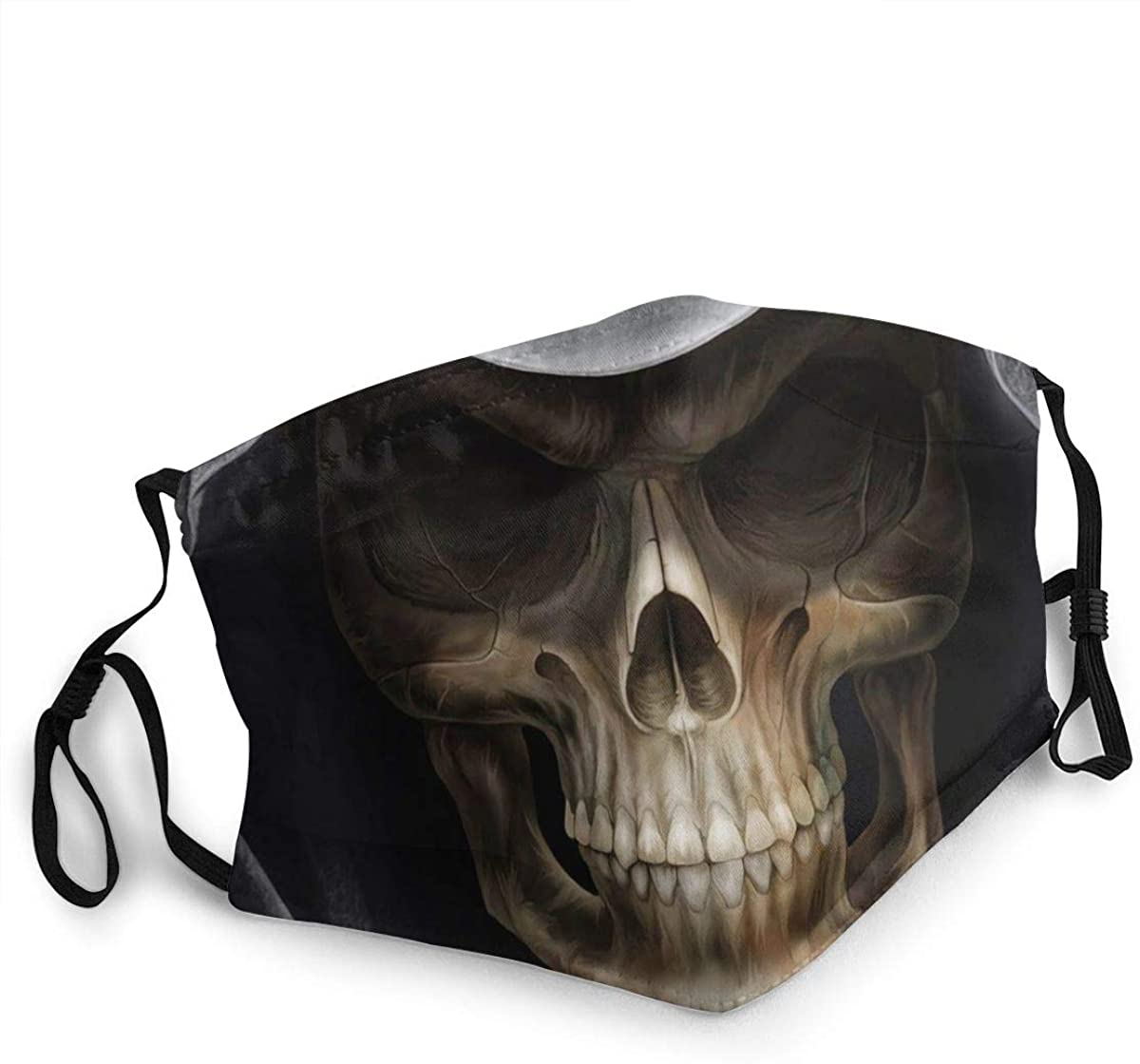 Reusable Fabric Face Scarf - Breathable Adjustable Mouth Shield Protection