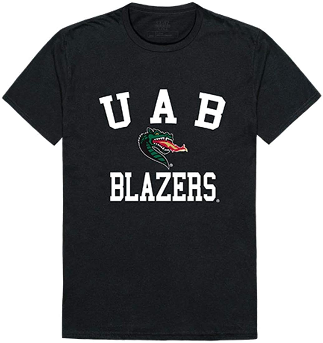 UAB University of Alabama at Birmingham Blazers Arch Tee T-Shirt Black