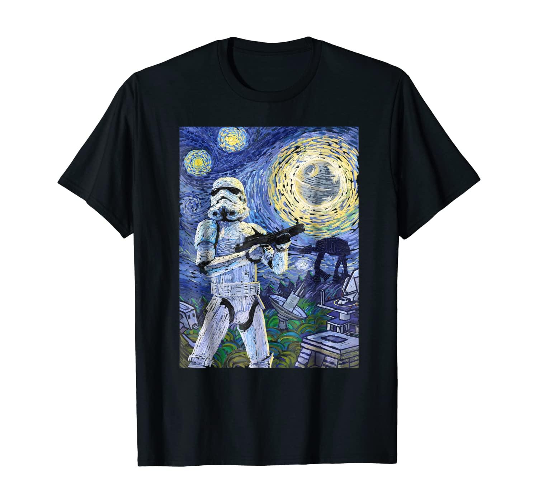 Star Wars Stormtrooper Starry Night Graphic T-Shirt C1
