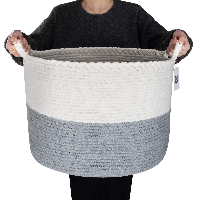 Cotton Rope Blanket Basket - XXL 22