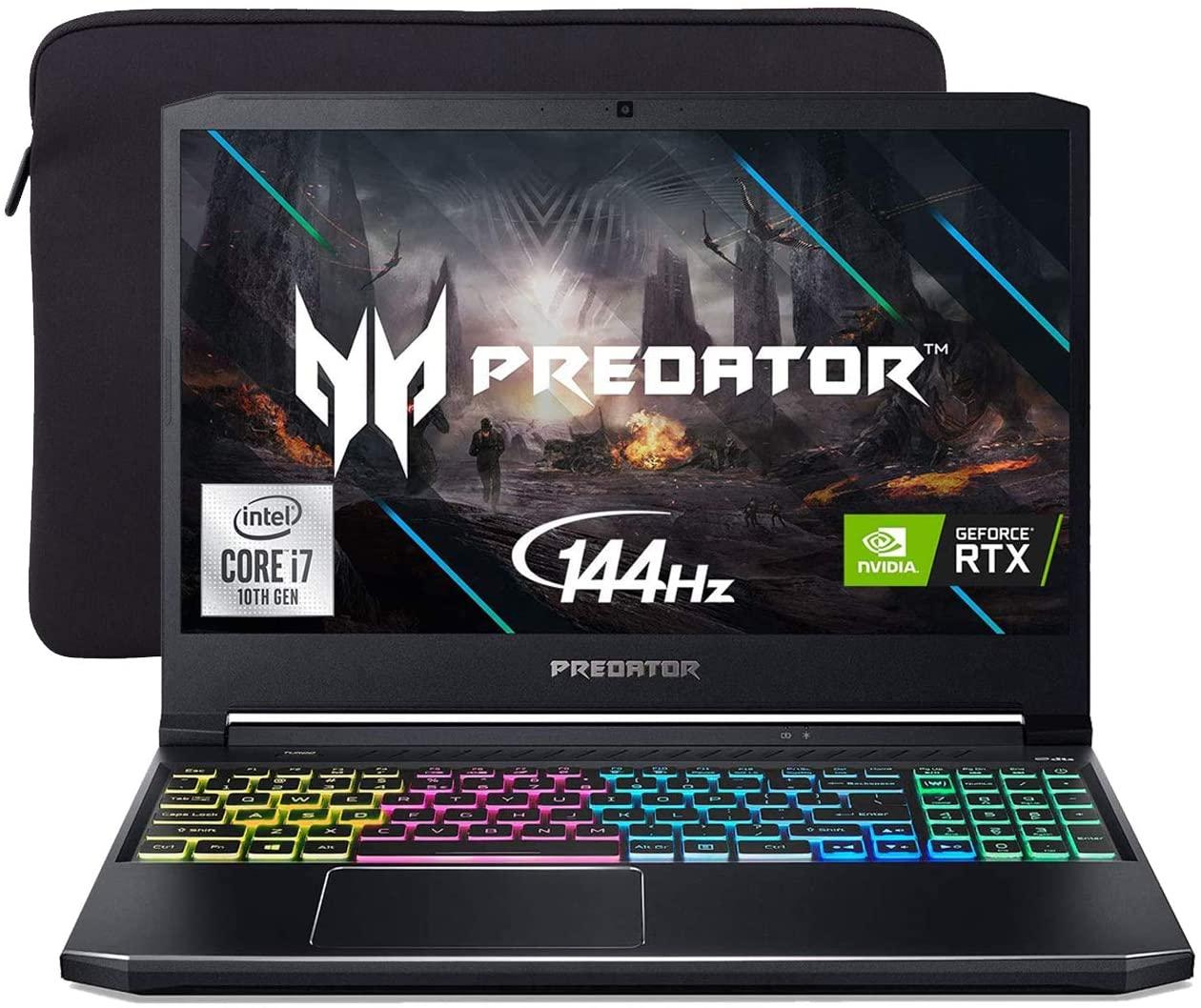 Acer Predator Helios 300 144Hz Gaming Laptop, 15.6