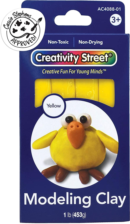 Creativity Street Modeling Clay, 1 lb. 4 sticks, Yellow