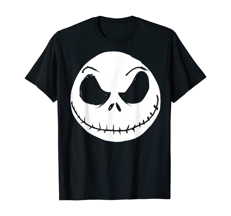 Disney The Nightmare Before Christmas Jack Skellington Face T-Shirt