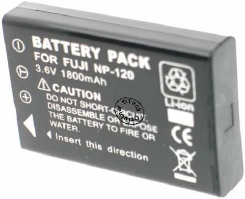 Otech Battery Compatible for FUJIFILM NP-120 Black