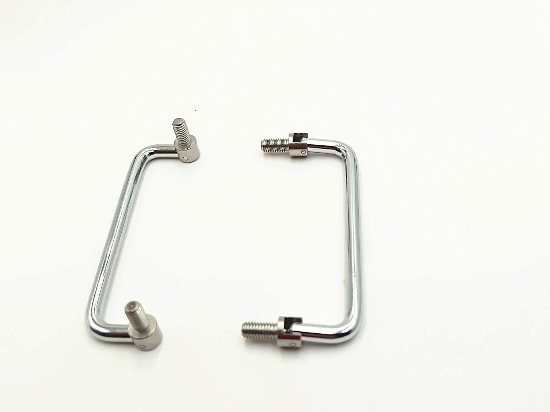 LUOYIMAO 2pcs Mechanical Equipment Toolbox 11cm Metal Folding Puller Push Handle