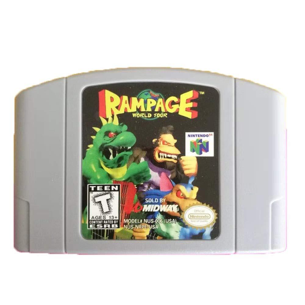 Rampage: World Tour Game Card for Nintendo 64 N64 US Version