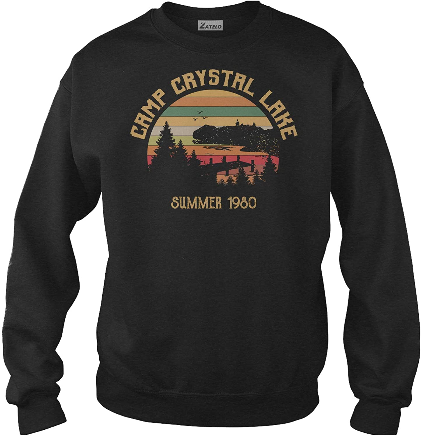 Camp Crystal Lake Summer 1980 - Vintage Retro T-Shirt