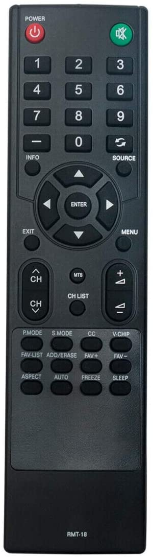 NKF RMT-18 RMT18 Remote Control for Westinghouse TV VR-4090 LD-2240 VR4090 LD2240