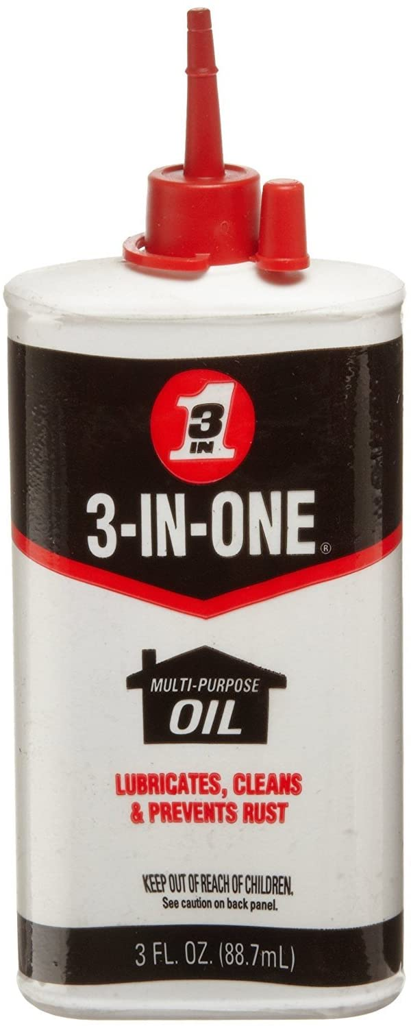 3-IN-ONE Multi-Purpose Oil, 3 OZ (Pack of 2)