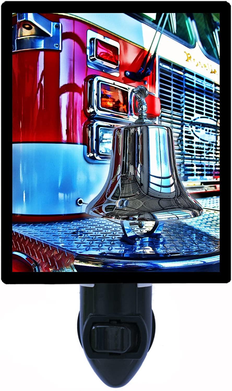 Firefighter Night Light, Firetruck Bell