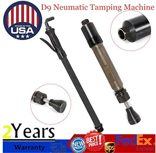 New D9 pneumatic tamping machine earth sand tamper tamper USA