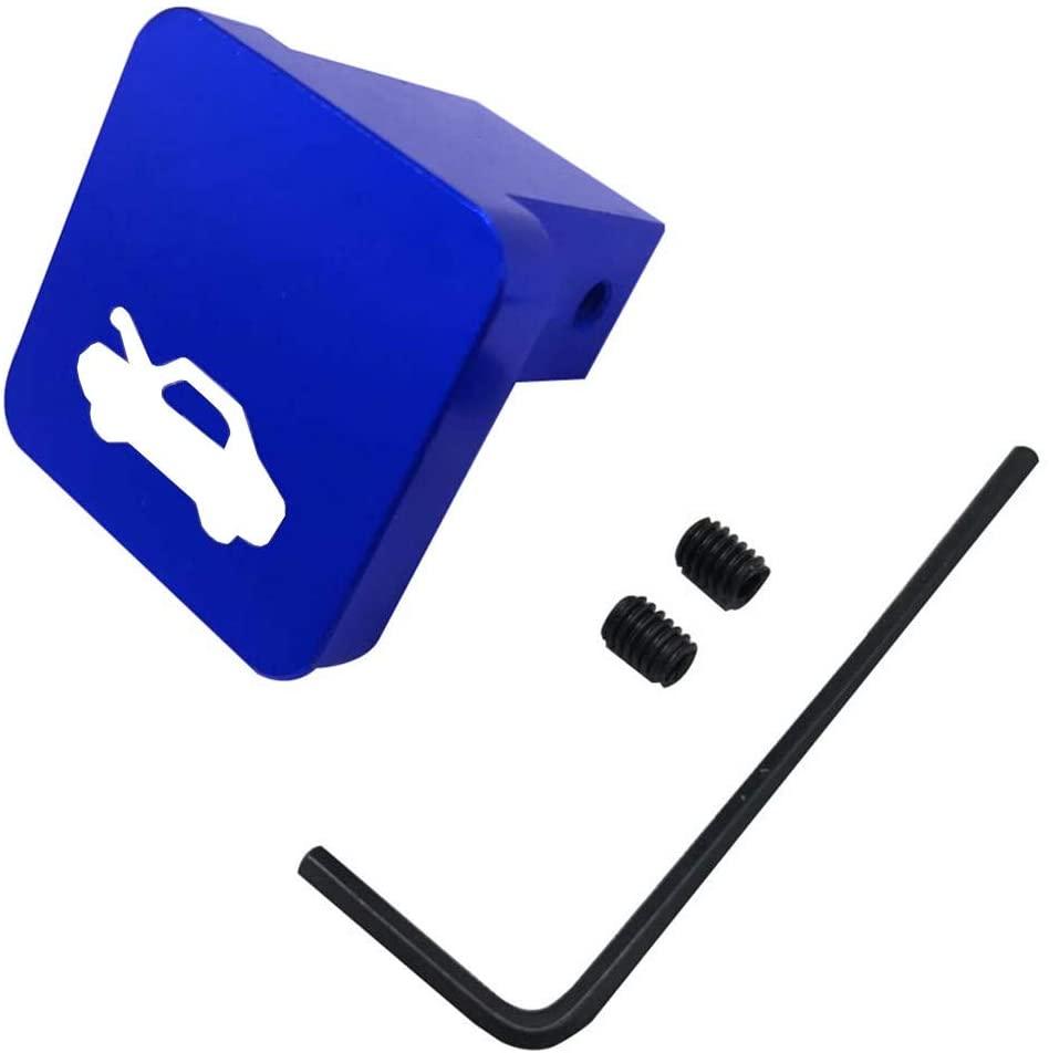Hood Latch Release Handle Cable Repair Kit Billet Aluminum for Honda CRV 1997-2006,Element 2003-2011,Ridgeline 2006-2014,Civic 1996-2011(Blue)