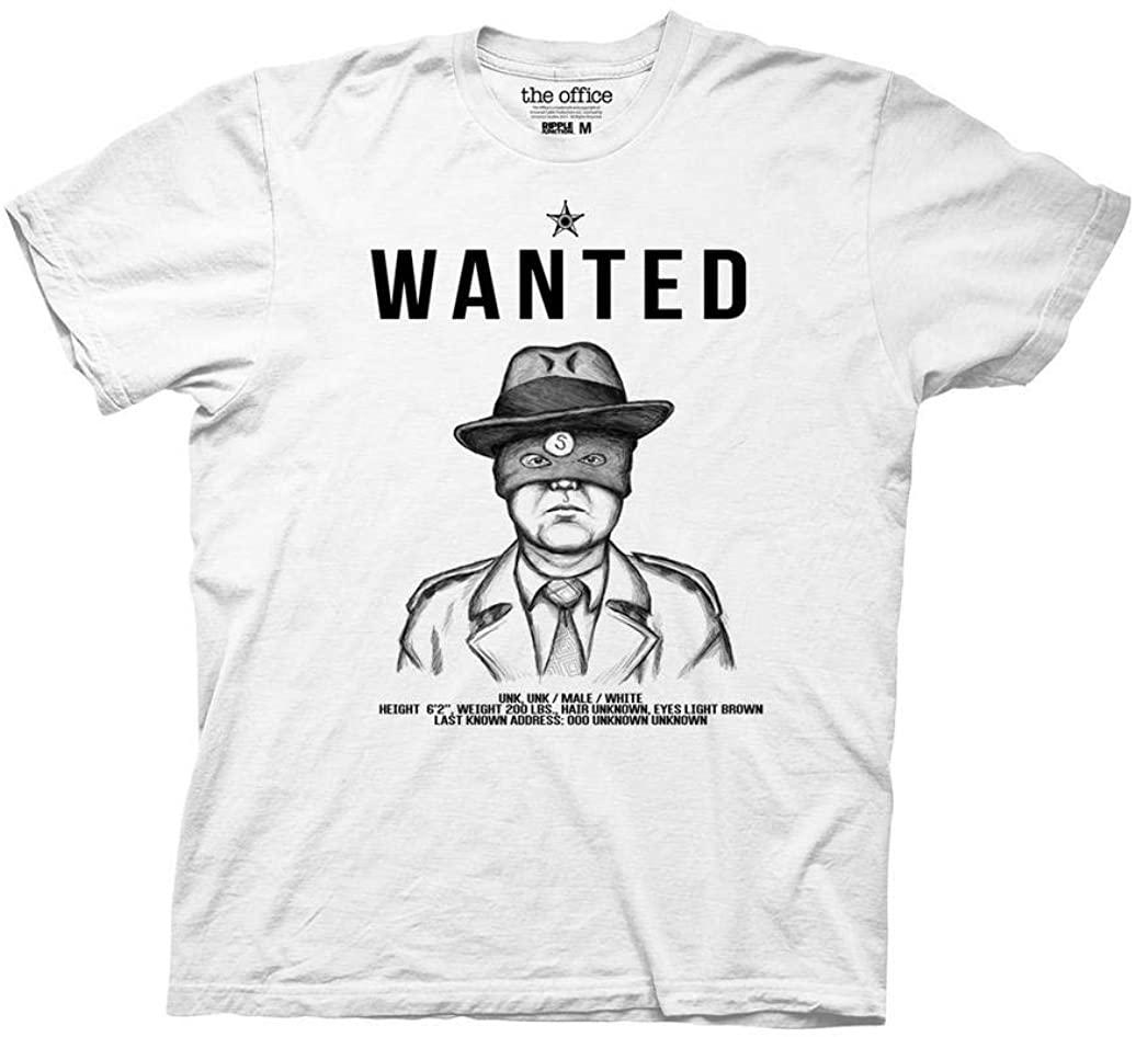Ripple Junction The Office Scranton Strangler Wanted Poster Adult T-Shirt