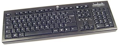 HP French KU-1060 Wired USB Keyboard 643690-051