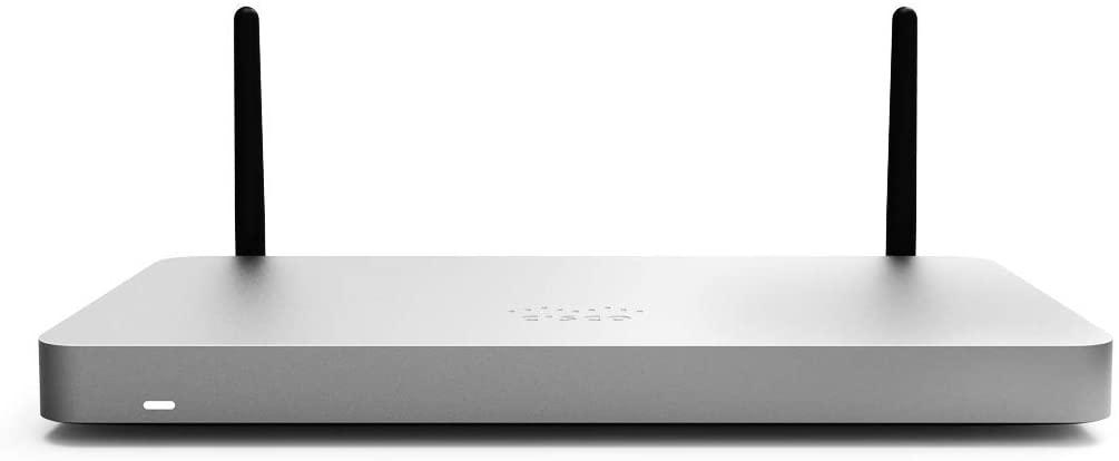Cisco Meraki MX68W Firewall with 802.11ac Plus MX68W Enterprise Security and Support 10YR BDL