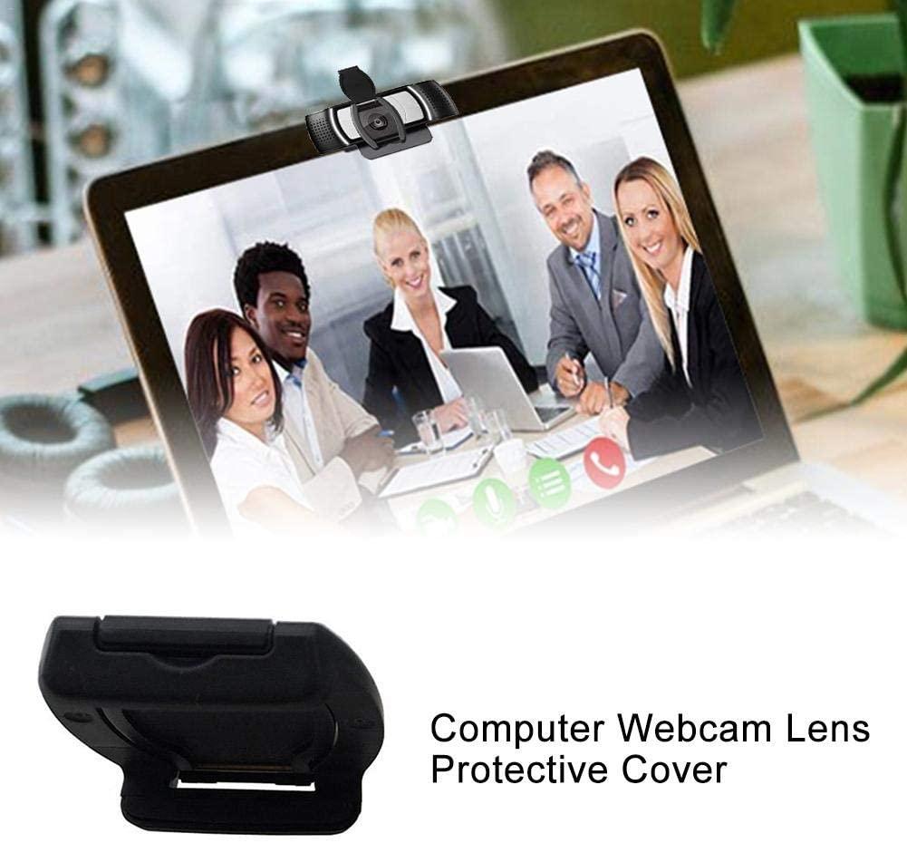 PROKTH Webcam Privacy Shutter Lens Cap Hood Protective Cover for Logitech HD Pro Webcam C930e C922 C920 (No Webcam)