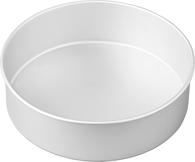 Wilton Aluminum Round Cake Pan, 10 x 3-Inch