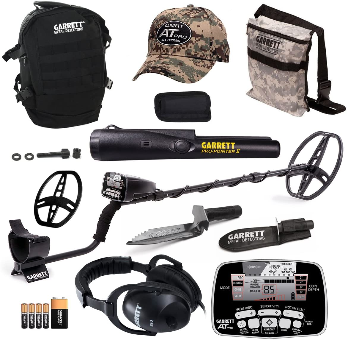 Garrett at Pro Metal Detector Bonus Pack with ProPointer II and Edge Digger