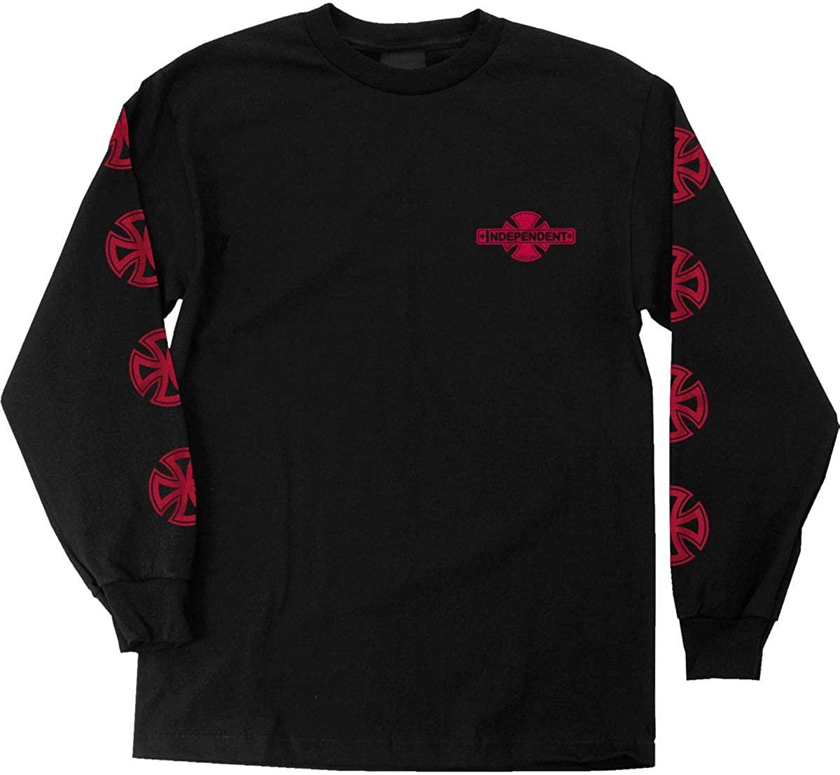 Independent Mens Cross Fill L/S Shirts