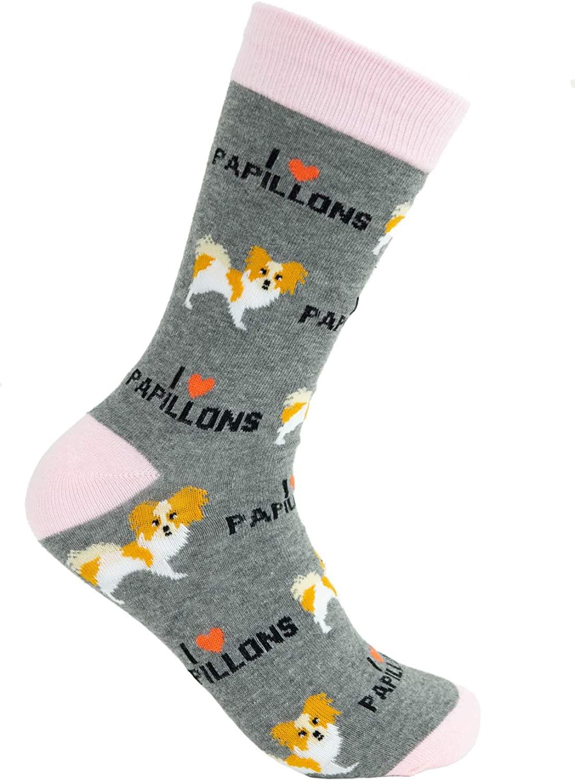 Papillon Socks - Comfy Adult Unisex Socks