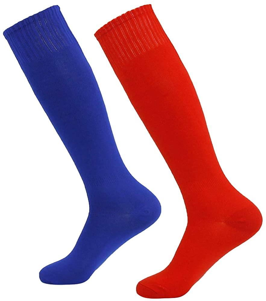 DD DEMOISELLE Knee High Soccer Socks, Unisex Men Women Youth Sport Football Softball Socks 2/6/8 Paris